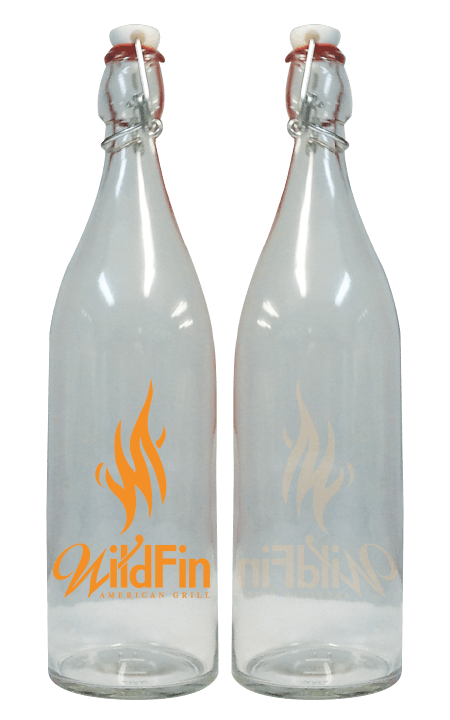 1L Giara Flint Growler sold by Cascade Graphics