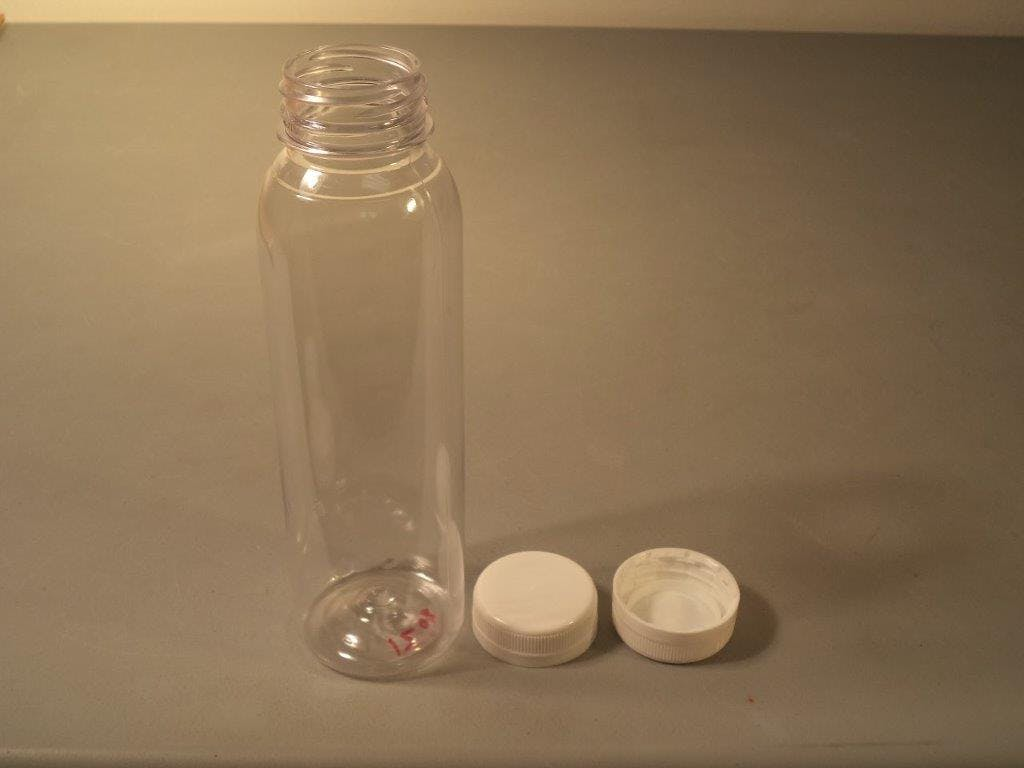 12oz bottle - 12oz Round Bottle - sold by Crystal Vision Packaging Systems