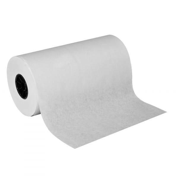 "15"" x 1000' White Butcher Paper Roll"