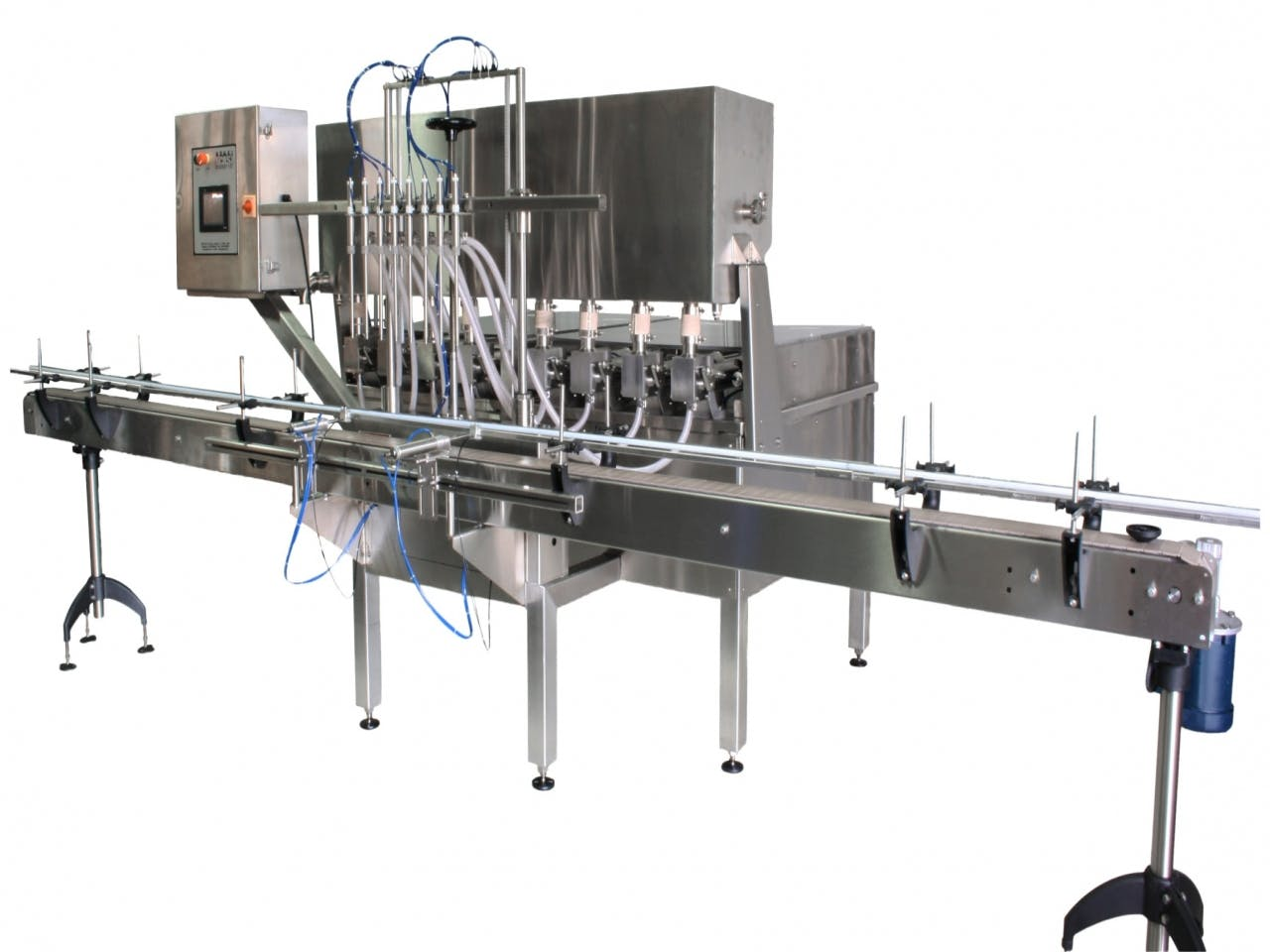 Piston Filler - Model TruPiston-8 Bottle filler sold by ACASI Machinery