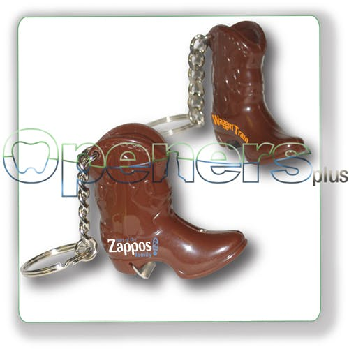 Cowboy boot opener Bottle opener sold by Openers Plus