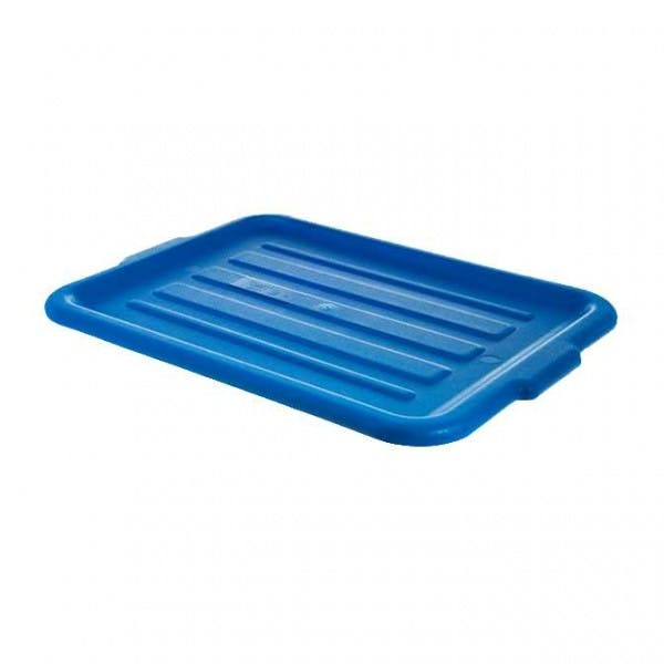 "Comfort Curve™ 20"" x 15"" Blue Universal Tote Lid"
