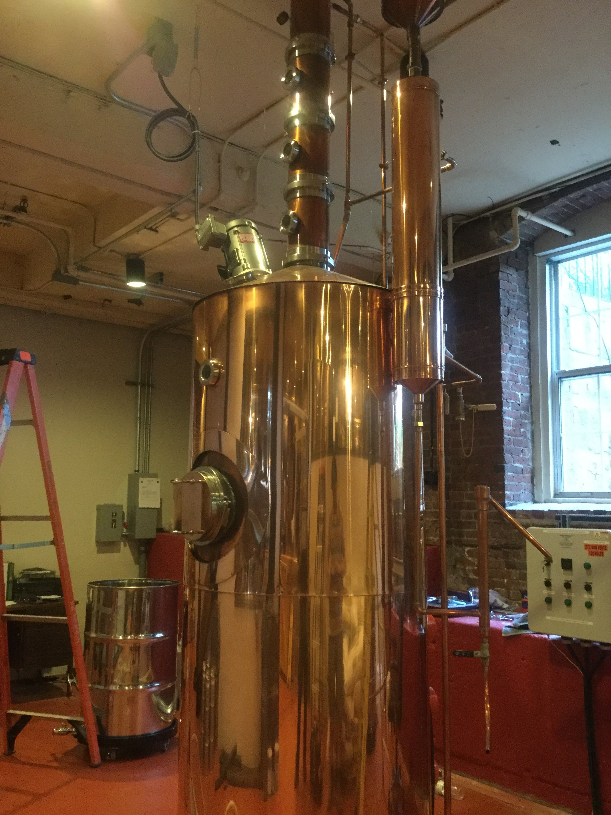 200 Gallon Copper Pot Still Distillation still sold by Steven Stillz LLC