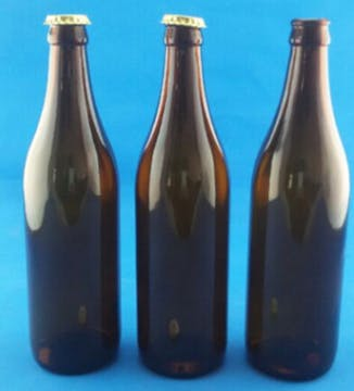 500ml brown glass beer / beverage bottles Beer bottle sold by Luscan Group