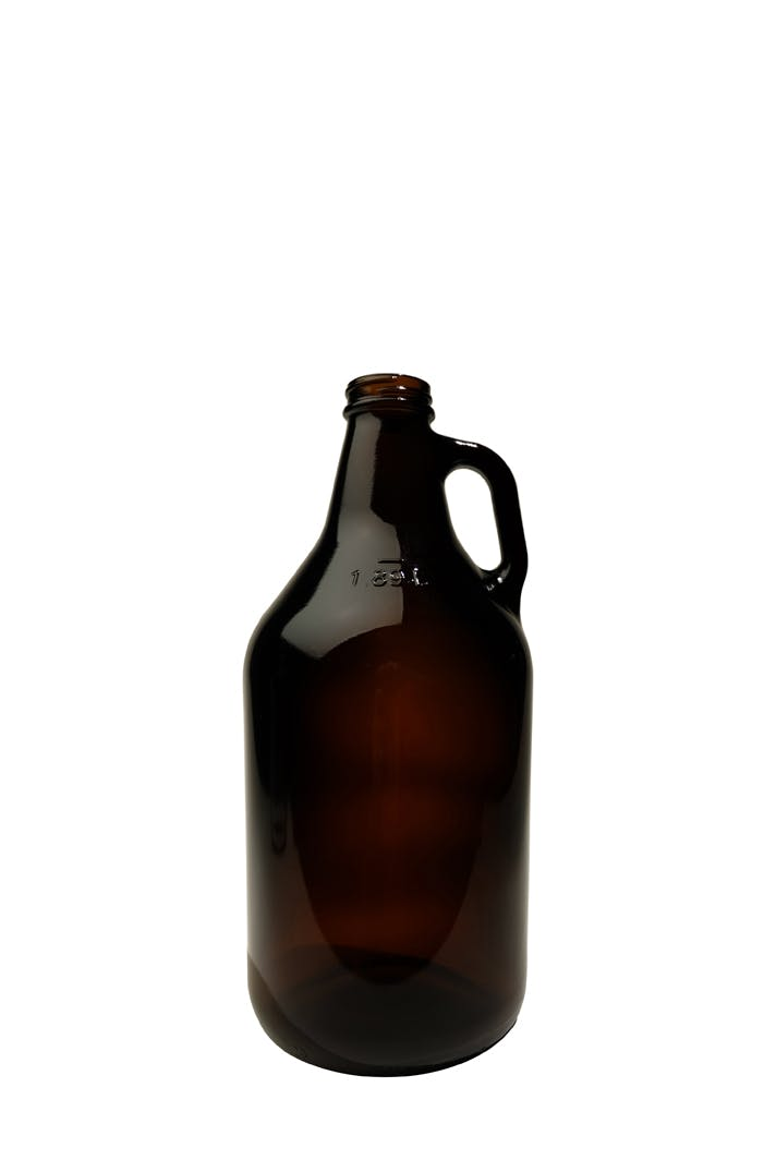 #402 Amber 32oz Screw-top Growler Growler sold by Tote Glass