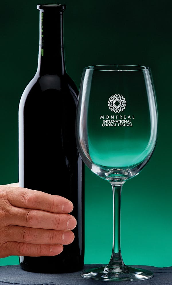 #3045 - 19 oz. Colossal Wine (wine bottle not included) Wine glass sold by Engraving Creations and More, Inc.