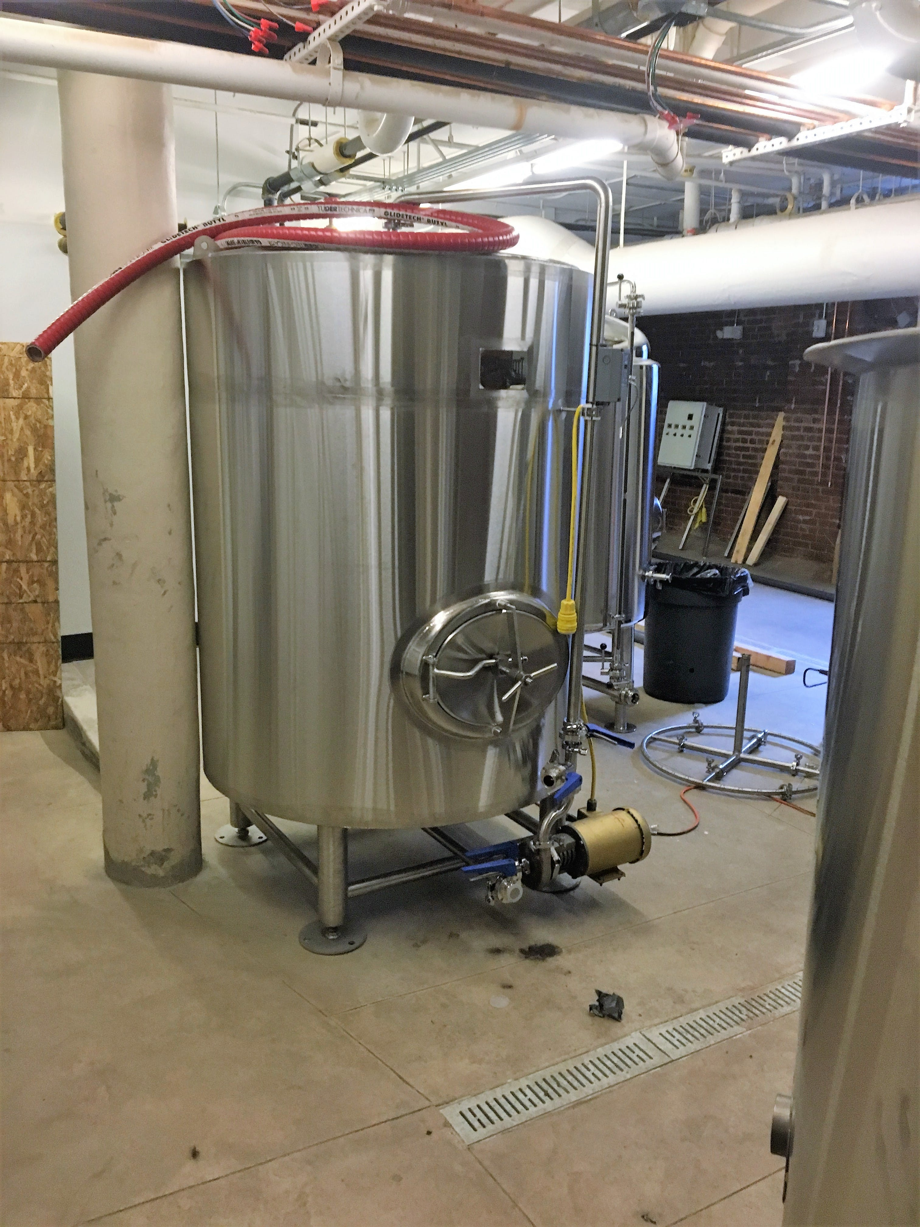 7 bbl brew house - sold by McDermott Tank LLC