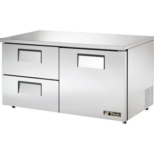 "True - TUC-60D-2-LP 60"" Low Profile Undercounter Drawered Refrigerator Commercial refrigerator sold by Food Service Warehouse"