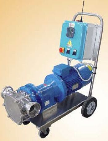 "Zambelli Pump ""Tifone"" T-180/ICDR, Remote Radio Controlled, Variable Speed Pump With Inverter Must pump sold by Gino Pinto INC"