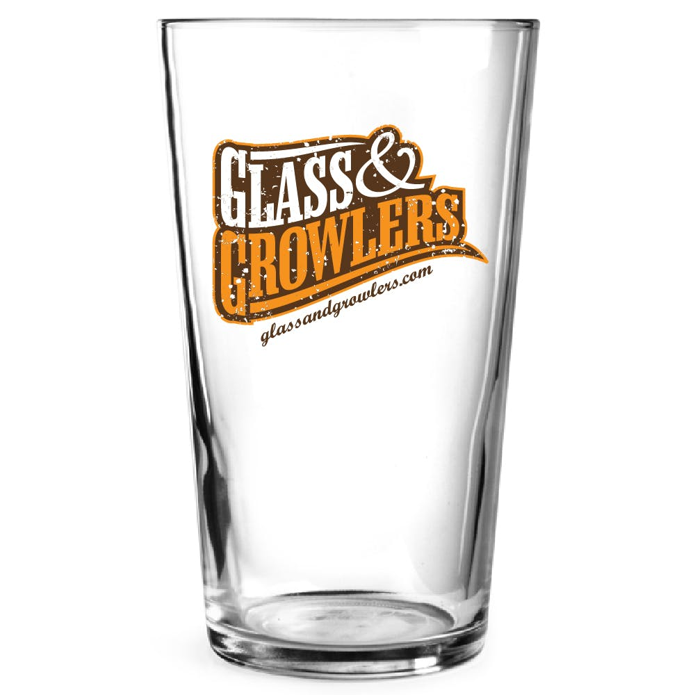 H3387 Conique Pub Glass 7 oz Beer glass sold by Glass and Growlers