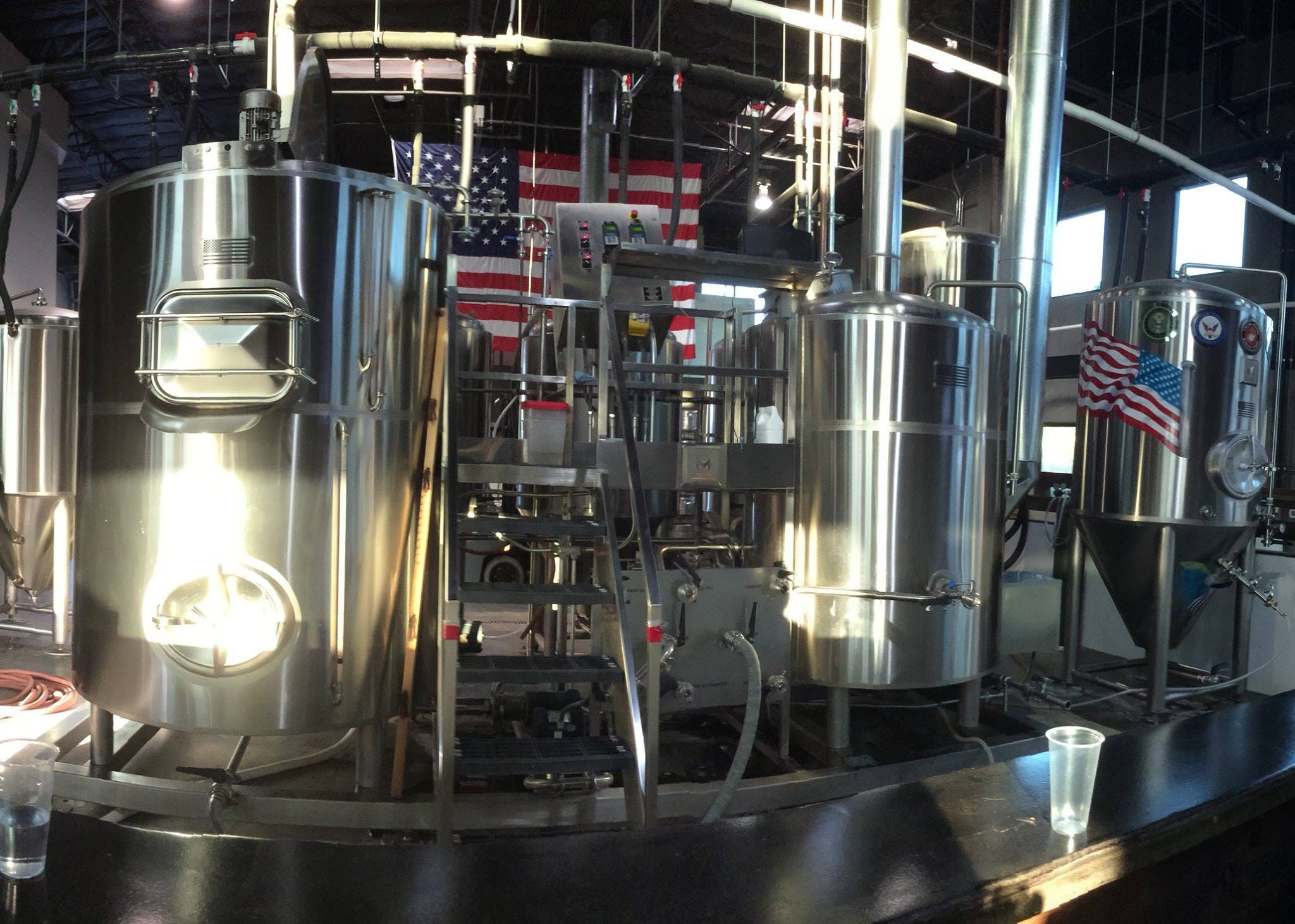 Marks Brewing System Brewhouse sold by Marks Design and Metalworks