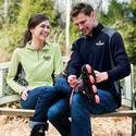 Men's Diversion/Ladies Dash 1/4 Zip Shirt - Promotional shirt sold by MicrobrewMarketing.com
