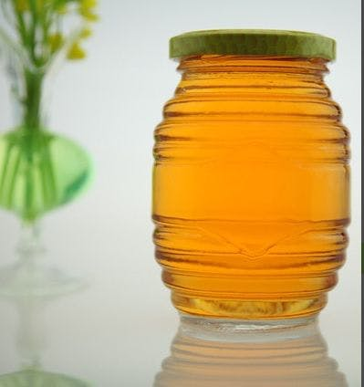 Glass honey jars & bottles Glass Jar sold by Luscan Group