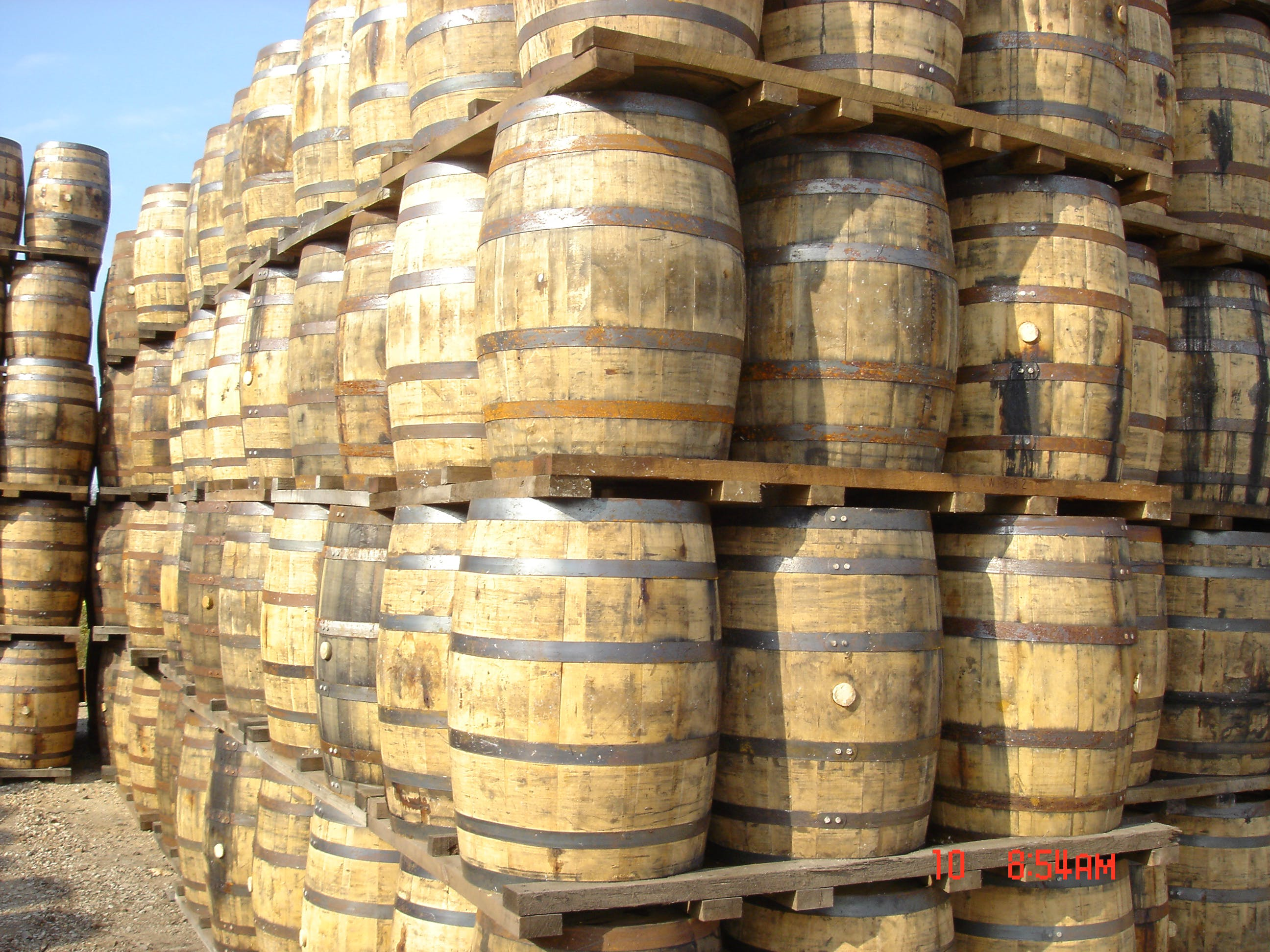 WHISKEY USED OAK BARRELS 53 GAL Barrel sold by The American Barrels