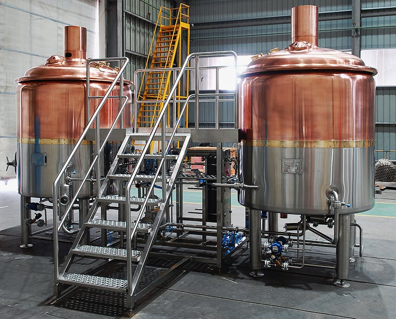 2 Vessel Combo Brewhouse (5-20BBL) Brewhouse sold by Lehui Craft