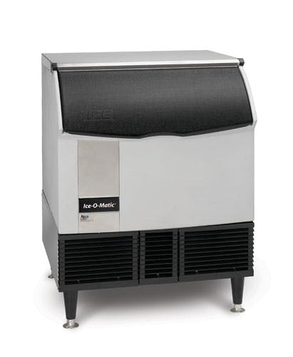 Iceomatic ICEU300HA Ice Maker with Bin, cube-style, undercounter, approximately 309 lb production/24 Ice machine sold by TheRDStore.com