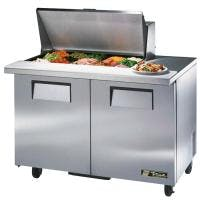 "True TSSU-48-15M-B - 48"" 15 Bin Sandwich/Salad Prep Table Food prep table sold by Prima Supply"
