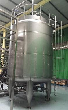 ASEPTIC STORAGE TANK SYSTEM Holding tank sold by TPS Process Equipment