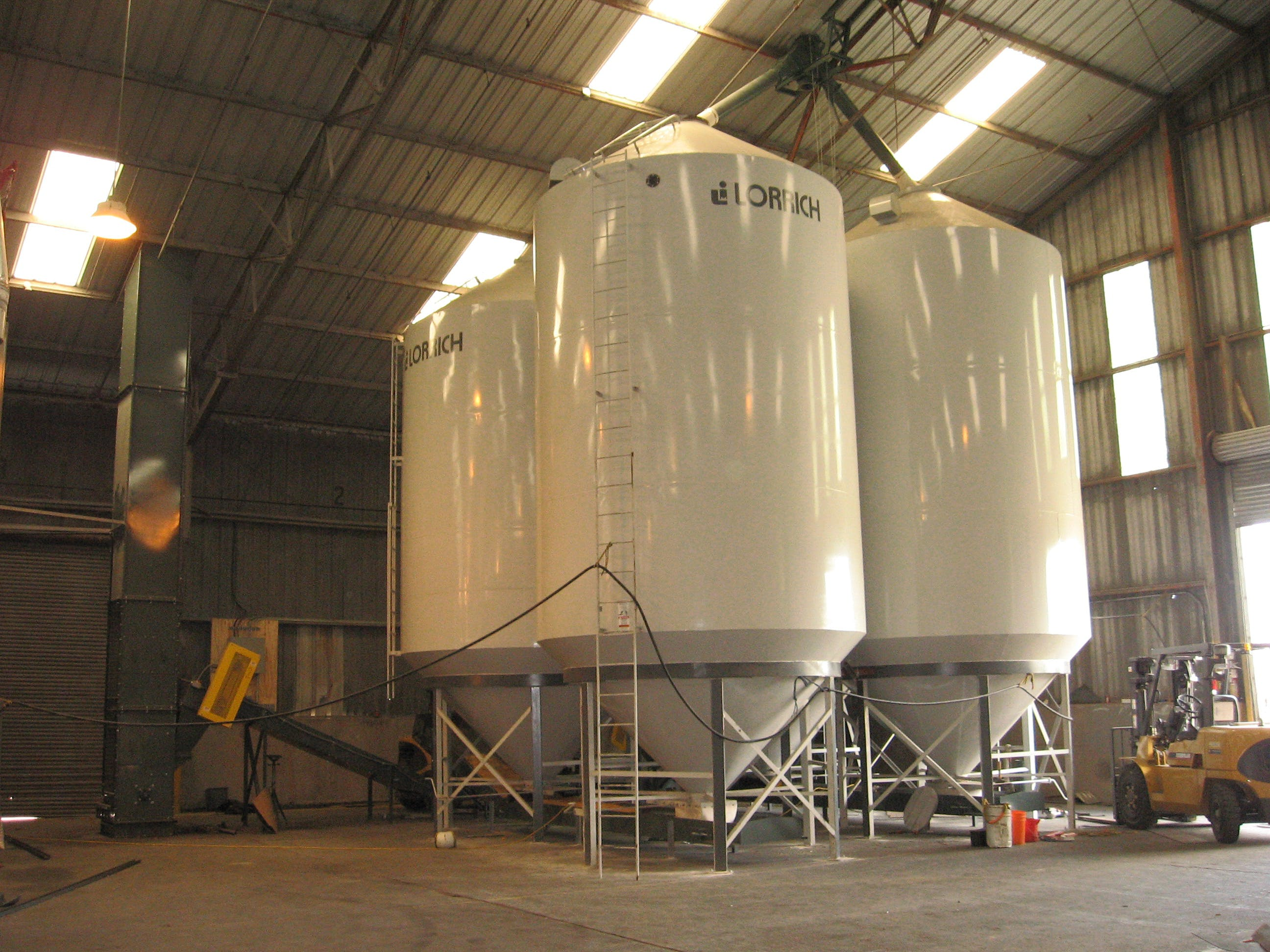 Multiple Silos Grain silo sold by EAS Corp