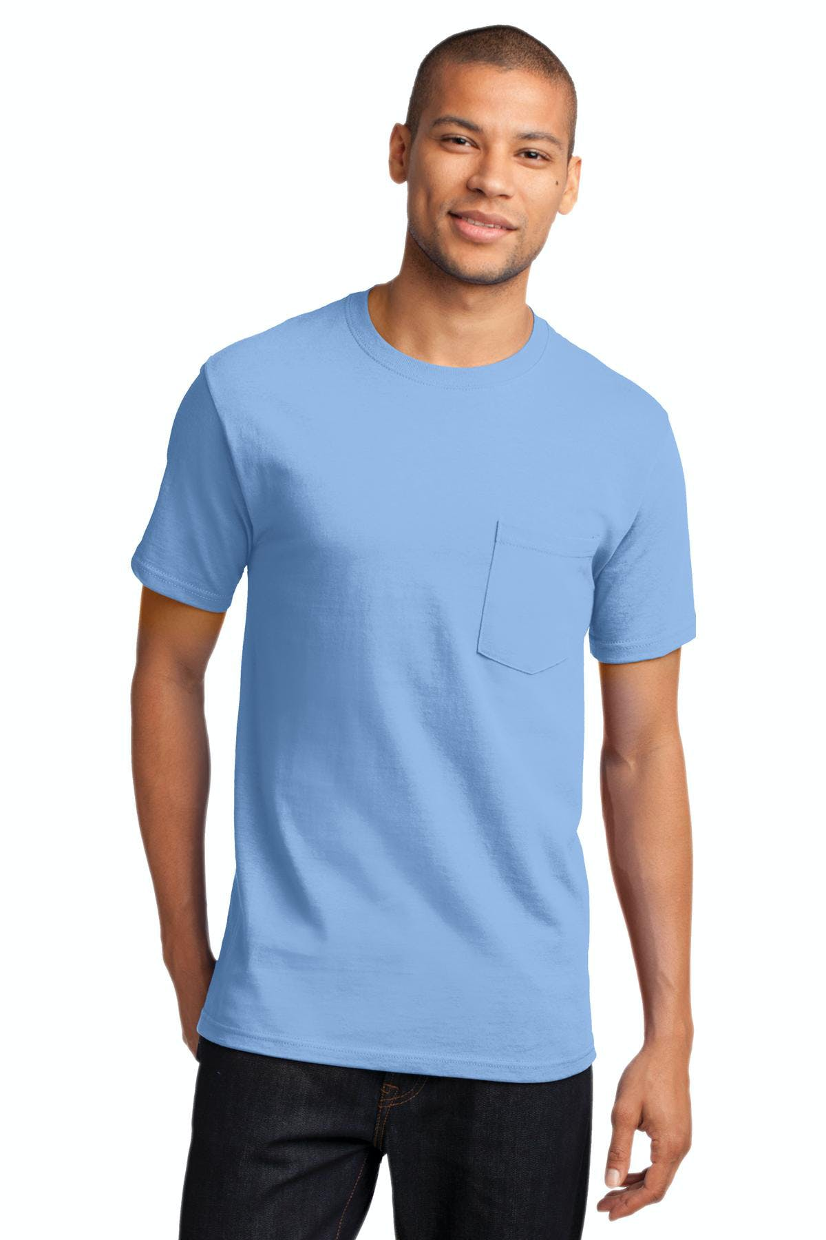 Port & Company® - Essential Pocket Tee - sold by PRINT CITY GRAPHICS, INC