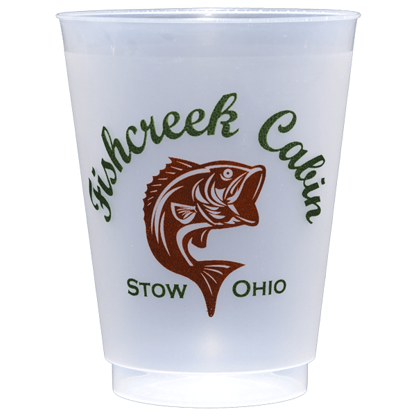 16 oz. Custom Disposable Frost Flex  Plastic Cups (min. 50) - 16 oz. Custom Disposable Frost Flex Plastic Cups - sold by Cup of Arms