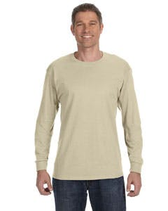 5586 Hanes 6.1 oz. Tagless® ComfortSoft® Long-Sleeve T-Shirt Promotional shirt sold by Lee Marketing Group