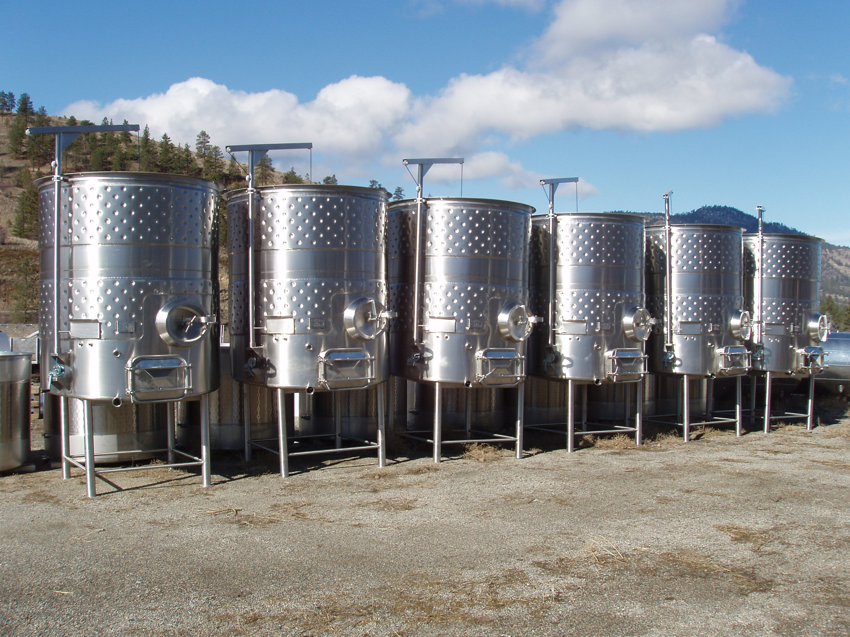 Red Wine Fermentation Tank Wine tank sold by Ripley Stainless Ltd
