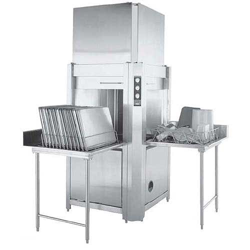 Champion - LD-12-CPT 10 Racks/Hr Pass-Through Pot, Pan & Utensil Washer Commercial dishwasher sold by Food Service Warehouse