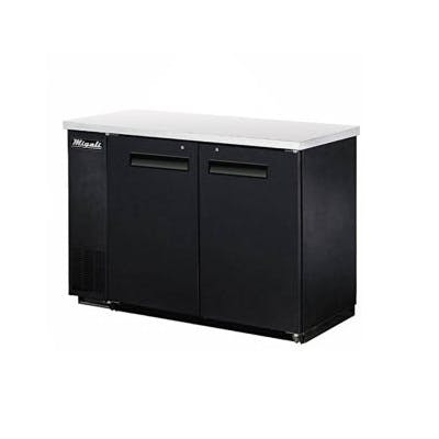 Migali C-BB48 Solid Door Back Bar Refrigerator (11.8 cu ft capacity) Back bar cooler sold by pizzaovens.com