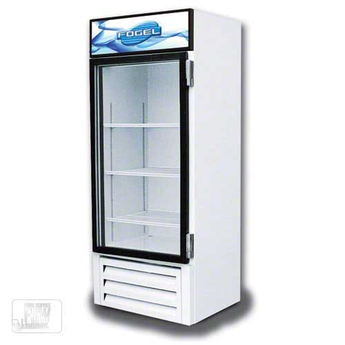 "Fogel - CR-23-US 30"" Glass Door Merchandiser Commercial refrigerator sold by Food Service Warehouse"