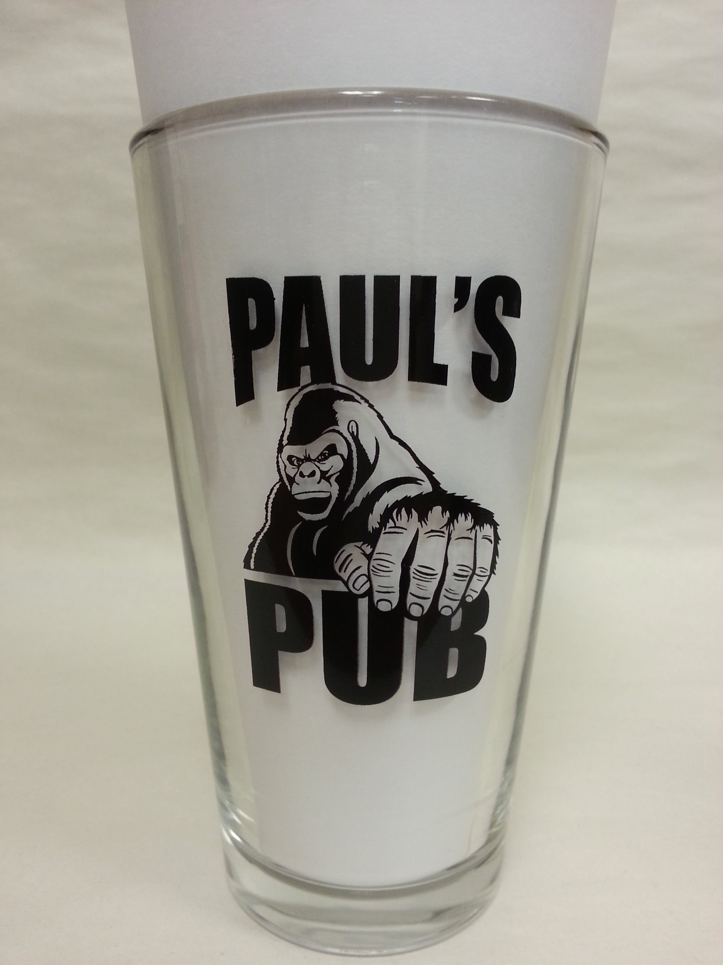 Pint Glass Beer glass sold by Mission Screen Printing