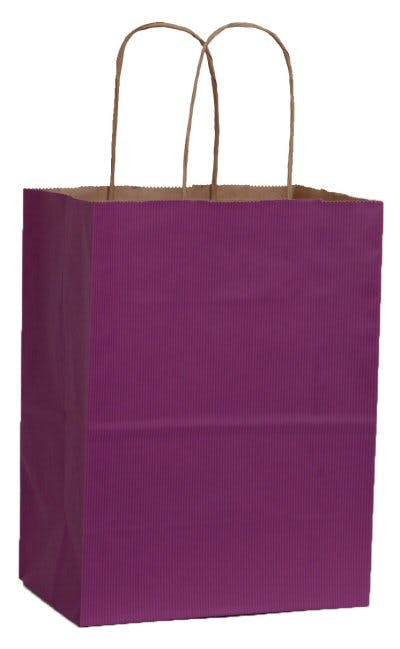 Kraft Tintes Shopping Bags Bag sold by ARROW PAPER CO