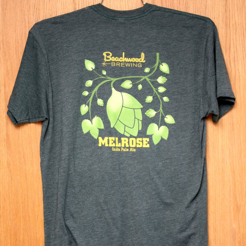 50/50 Tee - Beachwood - Melrose IPA Promotional shirt sold by Brewery Outfitters