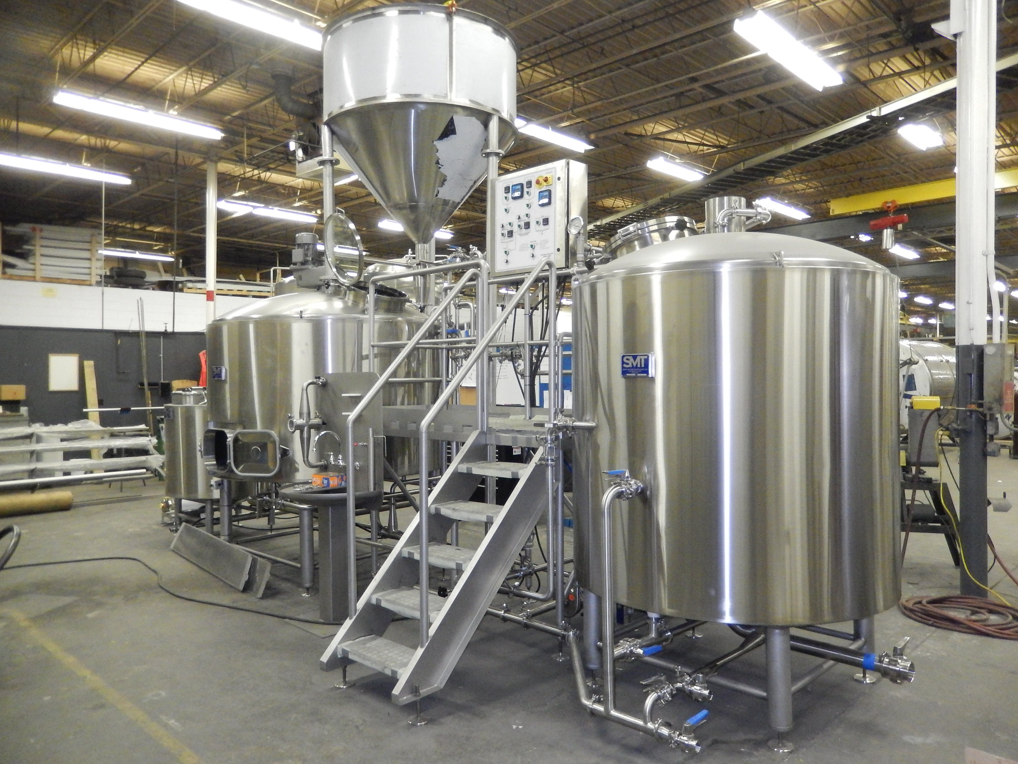Brewhouse with Grist case Brewhouse sold by Smart Machine Technologies, Inc