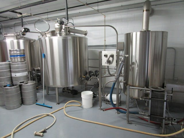 10bbl Brew Haus Brewhouse sold by Peterson Custom Stainless, Inc.