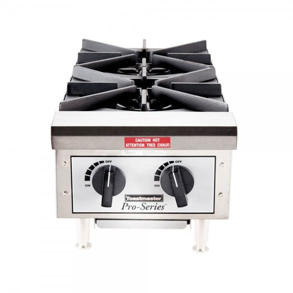 2 Burner Gas Countertop Hot Plate