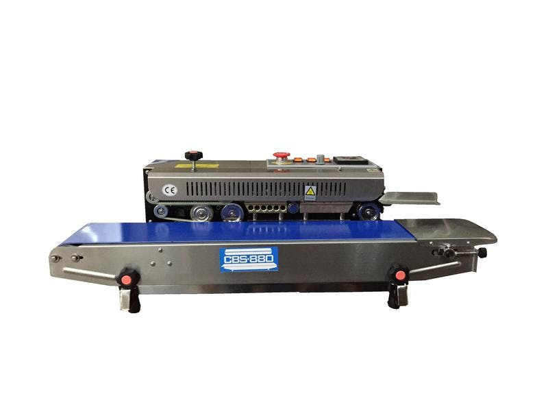 CBS-880 Horizontal Band Sealer Bag sealer sold by Sealer Sales