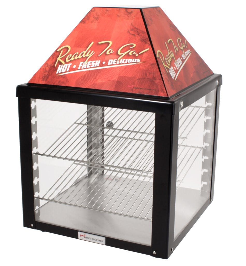 Wisco 690 Warmer / Food Merchandiser Food display case sold by pizzaovens.com