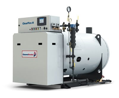 ClearFire-H Horizontal Steam Boiler Steam boiler sold by Cleaver-Brooks Inc.