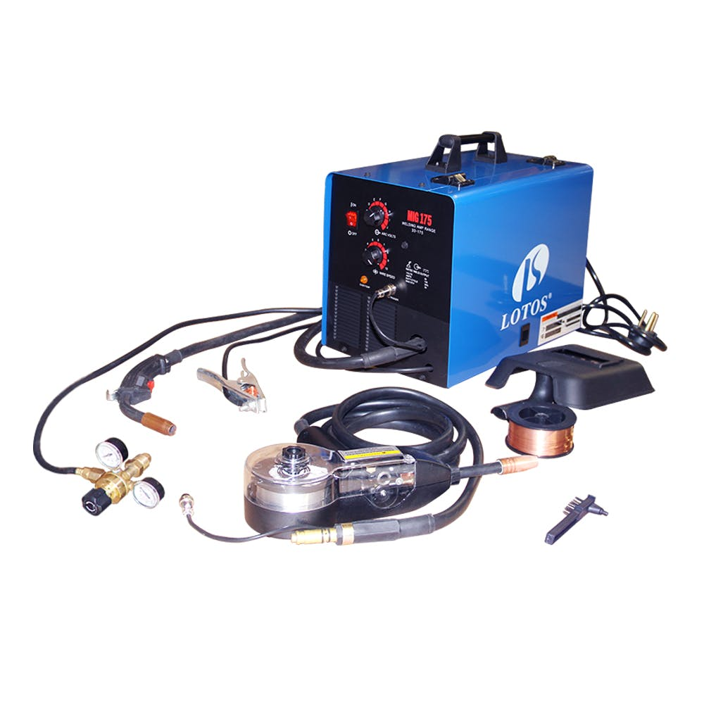LOTOS MIG175 175Amp Mig Welder with FREE Spool Gun Welder sold by LOTOS Technology