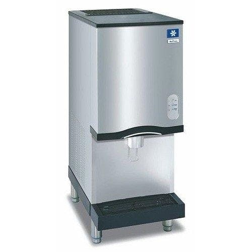 Manitowoc - Ice Maker & Water Dispenser, Self-Contained With Storage Bin, Nugget Style, 261-lb - RNS-20A