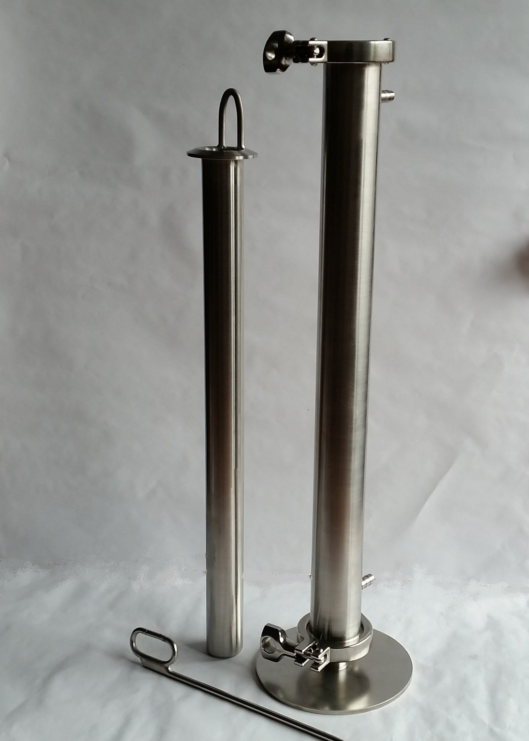 Wort sample chiller Brewhouse sold by Agile Stainless LLC