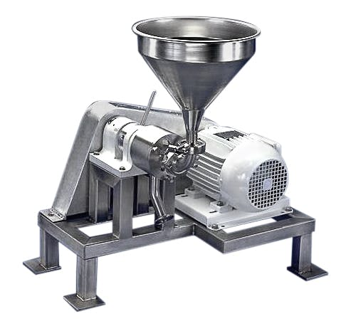 Benchtop Colloid Mill Colloid mill sold by Sonic Corp.