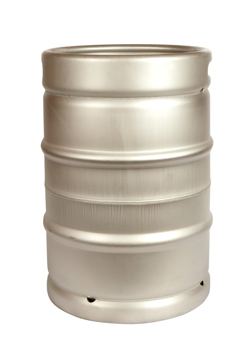 "NEW! 1/2 Barrel Commercial Keg with Sankey ""D"" Spear. Keg sold by All Safe Global, Inc."