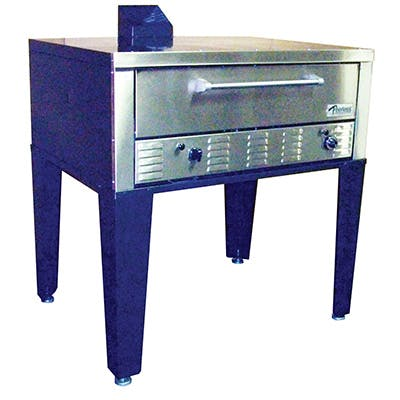 Peerless CE-42PE Double Stack Pizza oven sold by Pizza Solutions