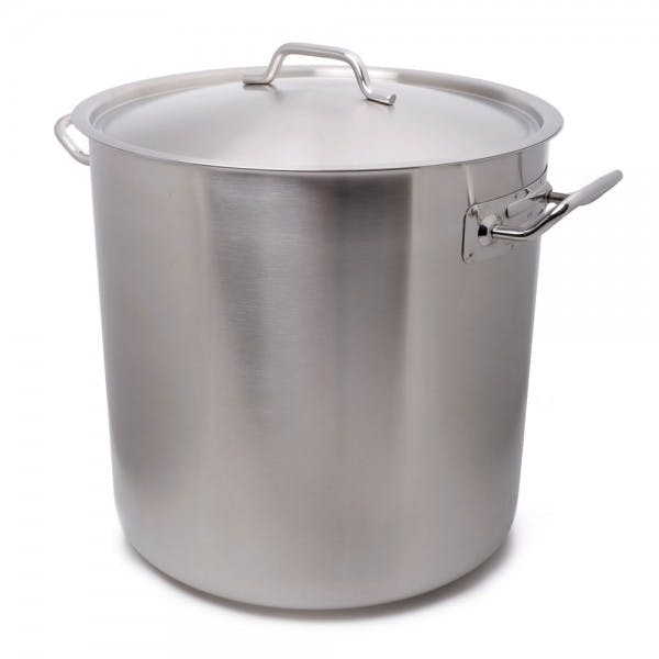 38 qt. Stainless Stock Pot w/ Cover