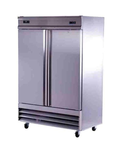 STR-47 TWO SOLID DOOR REACH IN REFRIGERATOR Commercial refrigerator sold by NJ Restaurant Equipment