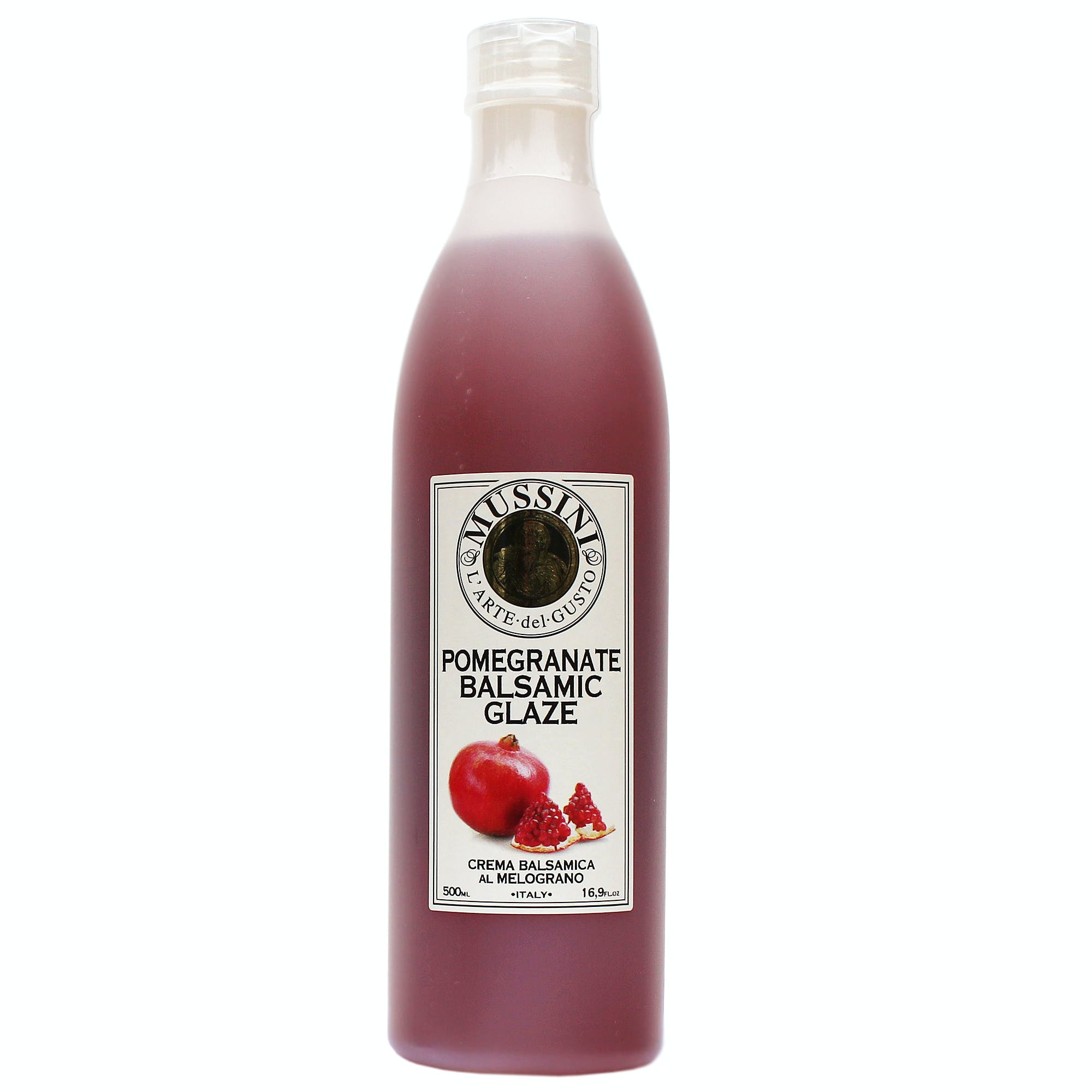 Italian Pomegranate Balsamic Glazes From Mussini, 16.9 Ounces Balsamic Vinegar sold by M5 Corporation