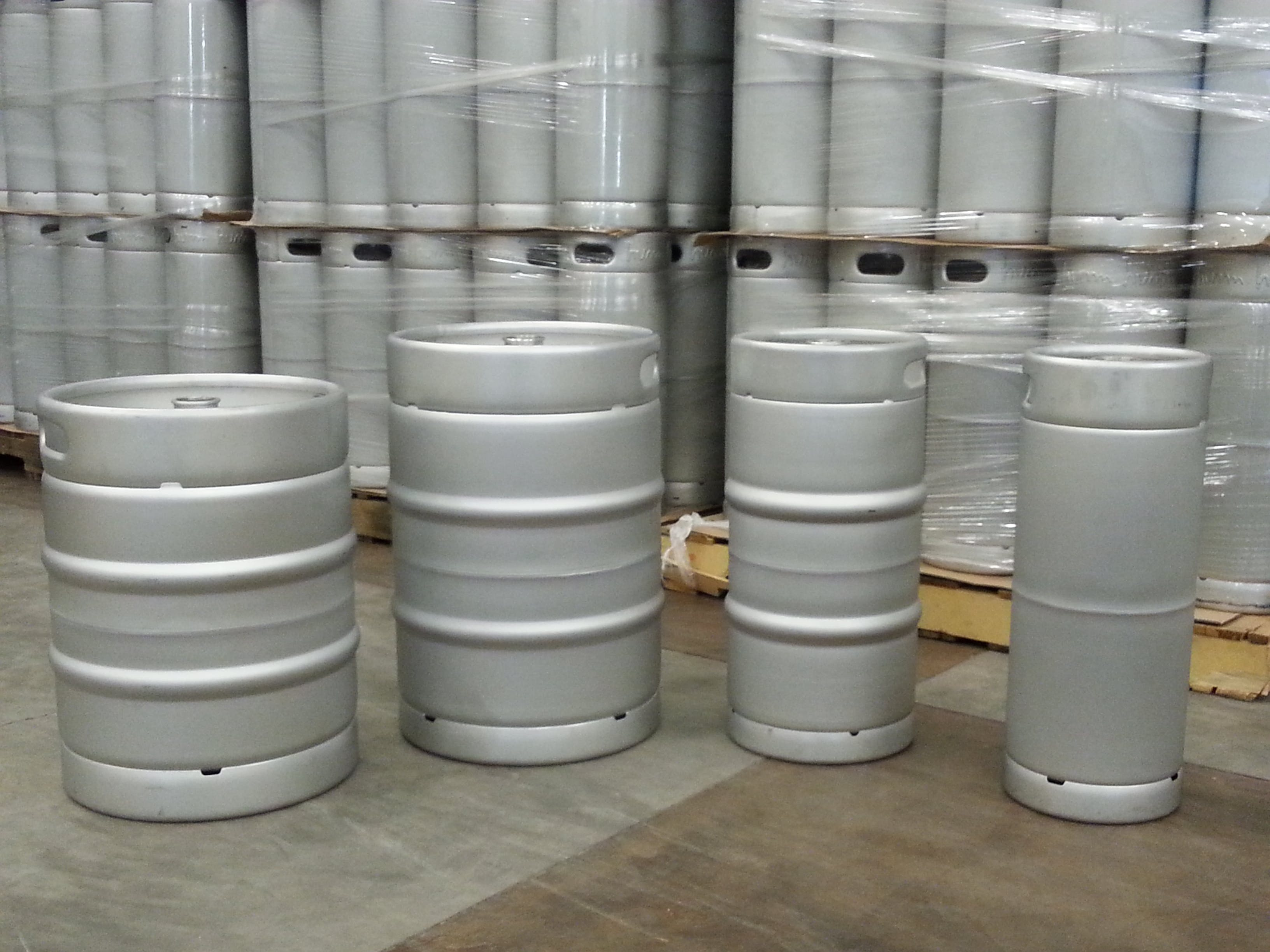 1/6 BBL, 1/4 BBL, 1/2 BBL and 50 Liter Kegs Keg sold by McEver Kegs