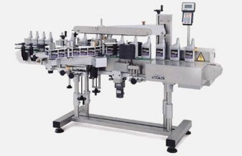 Front/Back labeler, Model 400 C Bottle labeler sold by ACASI Machinery